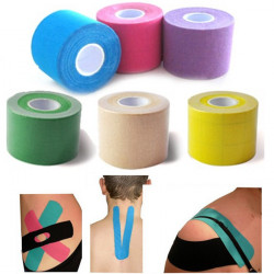 Sports Kinesiology Muscles Tape Athletic Elastic Therapeutic Bandage