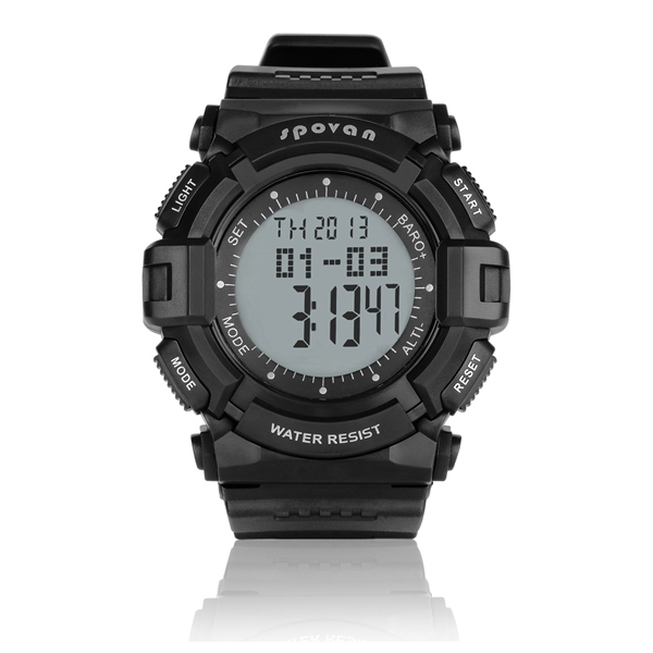 Spovan Multifunctional Sport Hiking Watches Altimeter Sports Watch Fitness & Body Building