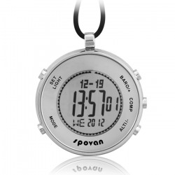 Spovan Multifunctional Sports Watches Fishing Hiking Pocket Watch