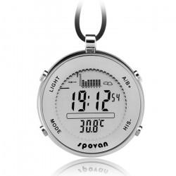 Spovan Outdoor Sports Taschen Uhr Uhr Fischerei Gerät Airgauge