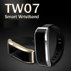 TW07 Bluetooth SmartBand Smart Wristband Fitness Sports Watch