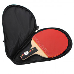 Bordtennis Racket Ping Pong Paddle Bat Fodral