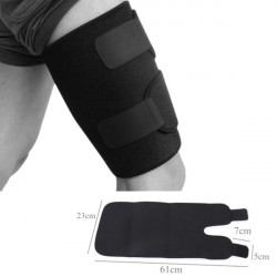 Thigh Protector Safety Neoprene Elastic Thigh Guard Support