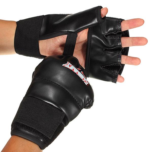Ultimative Kampf Mitts Half Finger Fitness Boxhandschuhe Sandsack Fitness &  Sportgeräte