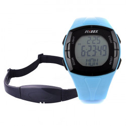 Waterproof Sports Heart Rate Pulse Calorie Monitor Calculation Watch
