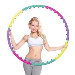 Kvinder Sport Magnetisk Massage Hula Hoop Fitness Magnet Hoops