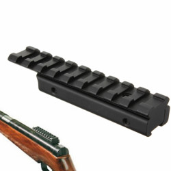 11mm til 20mm Rifle Tactical Svalehale Rail Extension Weaver Adapter