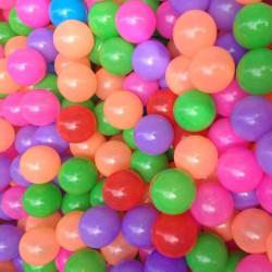 20 St Färgglada Plast Ocean Ball Baby Barn Leksaker Swim Pit