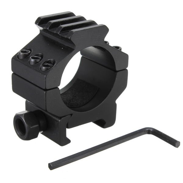 30MM Tactical Heavy Duty Scope Rings With Rail Top Rail Extension Hunting