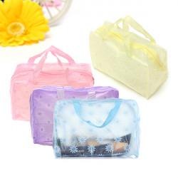 4 Farbe bewegliche wasserdichte Kosmetiktasche Pouch