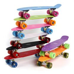 4 Wheels Skateboard Deck Mini Cruiser Skate Fisch langes Brett