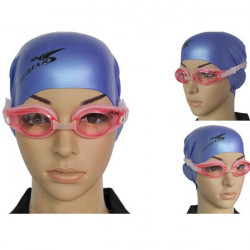 Adjustable Waterproof Anti-fog Swimming Glasses Goggles For Adult
