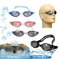 Adult Anti-fog Swimming Goggles Adjustable Waterproof Swimming Glasses