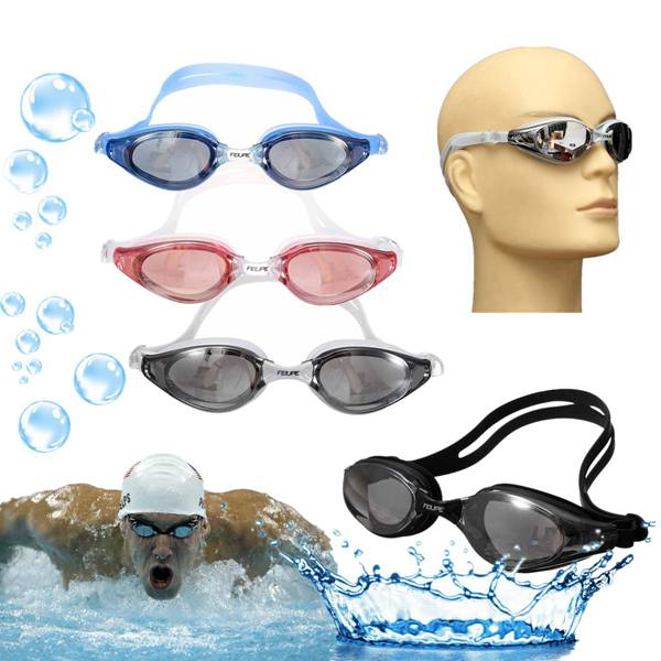 Adult Anti-fog Swimming Goggles Adjustable Waterproof Swimming Glasses Water Sports