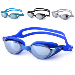 Anti-Fog Uv Protective Electroplating Mirrors Swimming Goggles