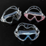 Anti-fog Swimming Goggles Submersible Big Box Swimming Glasses Water Sports