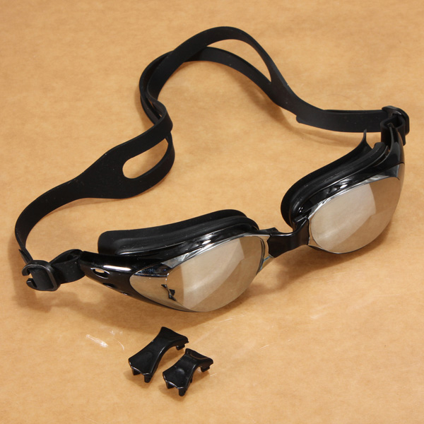 Anti UV Swimming Goggles Swim Glasses Adjustable Eye Protect Water Sports