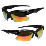 Bike Bicycle Polarized UV Protection Sunglasses Cycling Glasses 5 Lens Sunglasses