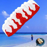 Braided Line Soft plus material Parachute Flame Sports Beach Kite Outdoor Recreation