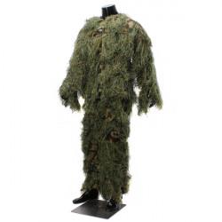 Camouflage Suit Fuglekigning Jagt Ghillie Taktisk Beklædning Split