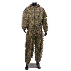Camouflage Suit Woodland Lummiga Kläder Jakt Skytte