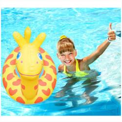 Barn Svømning Seat Ring Oppustelige Giraffe Swim Flydende Ring