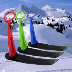 Children's Snow Scooter Skiing Board Snow Tube Sleds