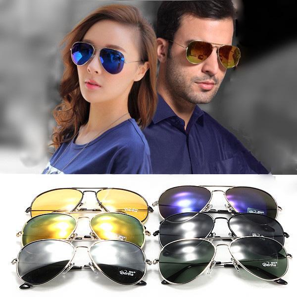 Classic S/L Unisex Aviator Sunglasses Polarized Goggles Glasses UV400 Sunglasses