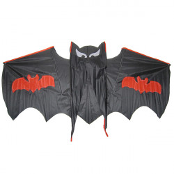 Cool Black Bat Flying Kite Outdoor Entertainment Toy Gift for kid
