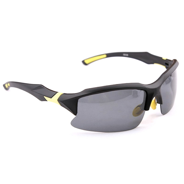 Cycling Sports Sunglasses Polarized Safety Glasses UV400 Outdoor Black Sunglasses