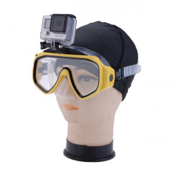 Diving Mask Swimming Goggles for Gopro Mount for Handsfree Diving