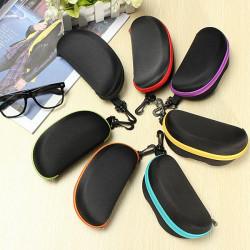 EVA Zip Eye Glasses Solbriller Hårde Cases Box Beskyttelse Holder Taske