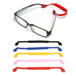 Elastisk Silikon Glasögon Halsrem Solglasögon Strap