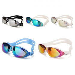 Electroplating Swimming Goggles Waterproof HD Swimming Glasses Eyewear