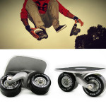 Free Line Skates Drift Skate with Wrench - Black Outdoor Recreation