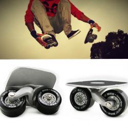 Free Line Skates Drift Skate mit Schlüssel   Schwarz