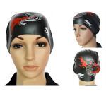 High Elastic Silica Gel Swimming Cap Waterproof Swimming Hat Water Sports