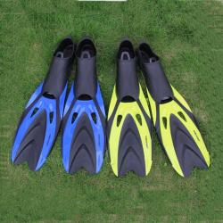Hohe Flexibilität Gummischwimmflossen Tauchflossen
