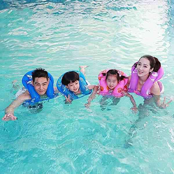 Inflatable Swimming Circle Swimming Ring Floating Ring for Kids Adults Water Sports