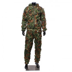 Jungle Burr Camouflage Clothing Ghillie Suit Camouflage Training Suit