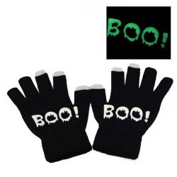 Luminous Touchscreen Knitted Warm Gloves Capacitive Screen Gloves