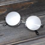 Metal Round Frame Læsning Briller Læsning Eyewear Solbriller