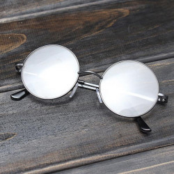 Metal Round Frame Læsning Briller Læsning Eyewear