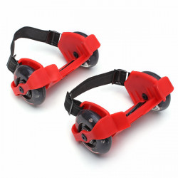 Mini Flashing Wheels Drifting Roller Skating Shoes Free line Wheels