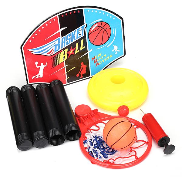 Nya Bärbara Barn Sport Toy Set Basket Stand Utomhuslek