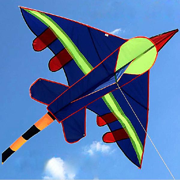 Udendørs Fun Sports  Small Fighter Drage Fun Toys Easy Fly Udendørs Leg
