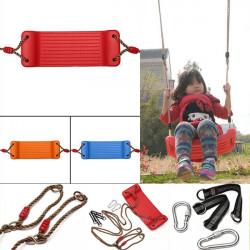 Plastikinnen im Freien Schaukel Seil Sitz für Kind Kinder Kind Geschenk