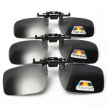 Polarized  Clip On Sunglasses Glasses Lens Sunglasses