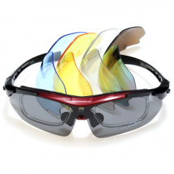 Polariseret Cykling Solbriller Bike UV Glasses Eye Wear