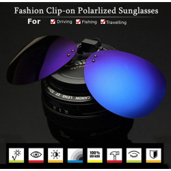 Polarized Sunglasses Clip Sun Glasses Driving Night Vision Goggles